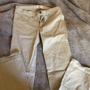 Khaki Hollister Pants